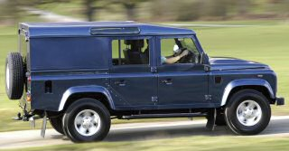 DEFENDER 110 UTILITY WAGON A NEW 5-SEAT COMMERCIAL VEHICLE