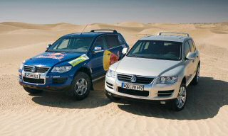 NEW TOUAREG TAKES ON KEY ROLE IN THE DAKAR RALLY
