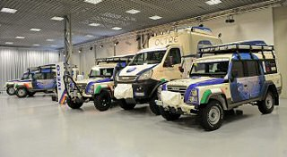 Iveco delivers specialist 4x4 fleet for expedition to the Arctic