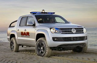 VOLKSWAGEN SHOWCASES NEW 1-TONNE PICKUP CONCEPT