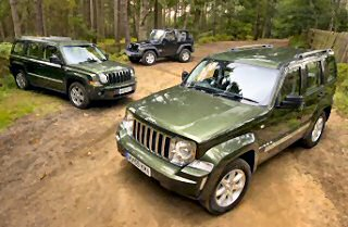 JEEP� CELEBRATES WITH A HAT TRICK OF 4X4 AWARDS